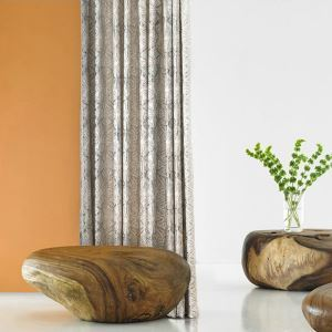Nordic Modern Jacquard Advanced Custom Curtains
