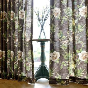 American Countryside Pastoral Style Curtain Tasha Tudor Theme Curtains