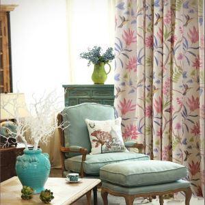 American Countryside Pastoral Style Curtain Tasha Tudor Theme Curtains