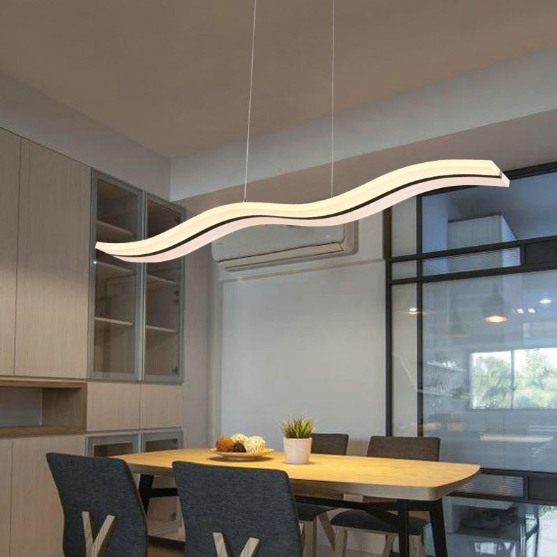 Office Lighting Ideas: (In Stock) Ceiling Lights Acrylic Pendant Lights LED