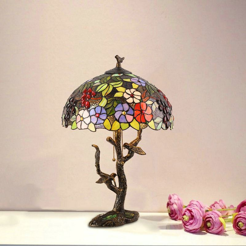 Lighting Tiffany Lights Table Lamps Authentic 16 Inch Luxury Chinese Clical American Retro Creative Lamp