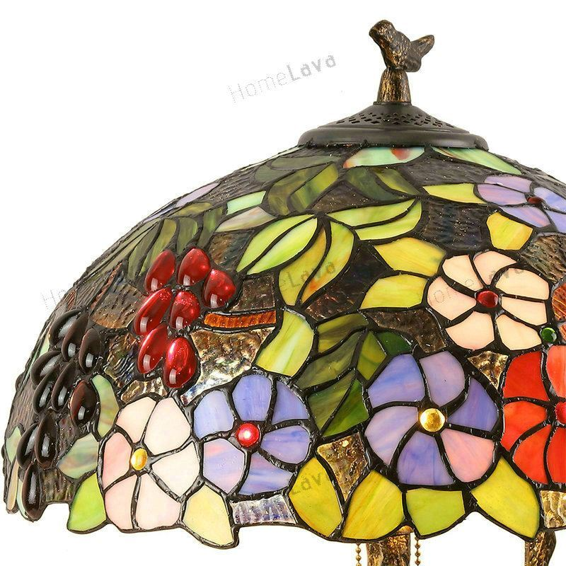 lighting tiffany lights tiffany table lamps authentic tiffany 16 inch luxury chinese classical - Tiffany Table Lamps