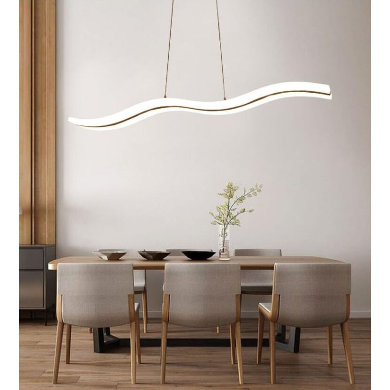 UK Stock LED Pendant Light C Acrylic Lights Modern Contemporary Living Room