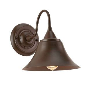 American Country Style Antique Light Black Paint Iron Wall Light(Years Of Memories)