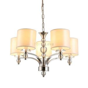 (In Stock)Modern Elegant Chandelier with 5 Spheral Lights