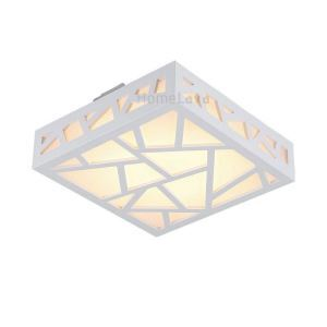 LED Flush Mount Creative Carving Water Cube LED White Ceiling Lights (AC85~265V) Energy Saving