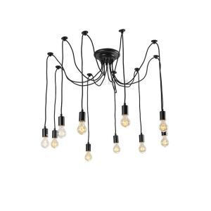 (In Stock)Ceiling Lights Chandelier Vintage Design Living 10 Lights(Christmas Cobwebs)
