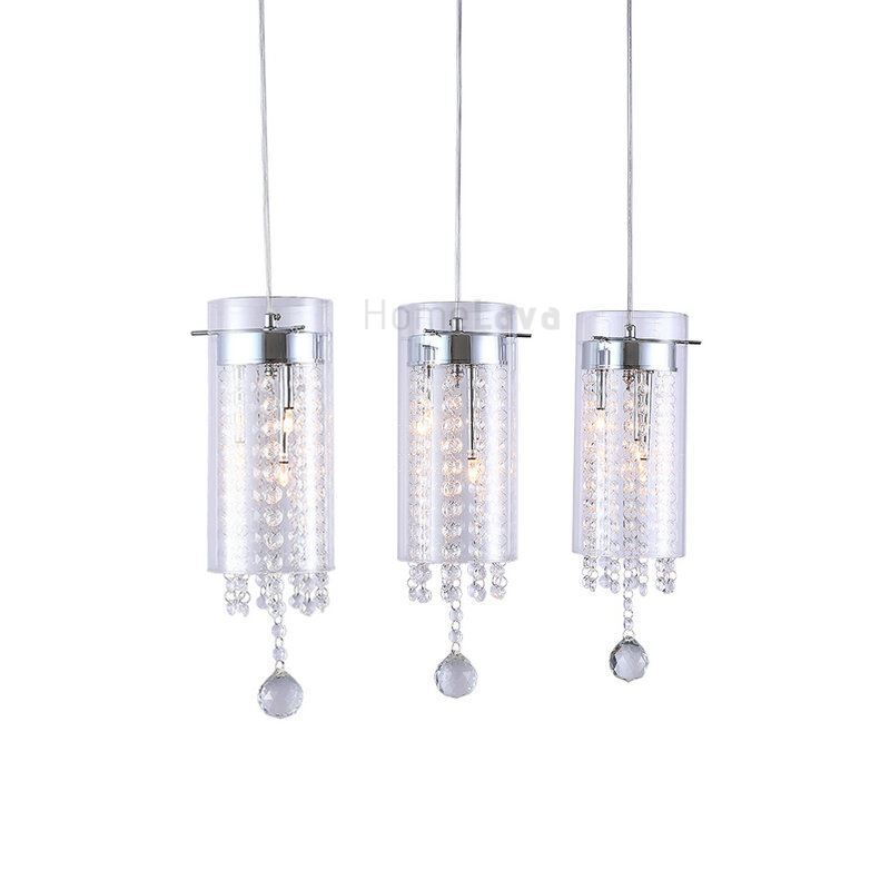 Ceiling lights artistic crystal 3 light pendant lights with glass ceiling lights artistic crystal 3 light pendant lights with glass shades g4 bulb base mozeypictures Images