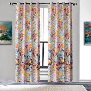 Modern Style Colorful Curtains Customize Curtains