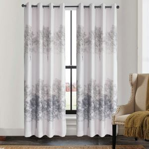 Elegant Tree Prints Curtains Customize Curtains