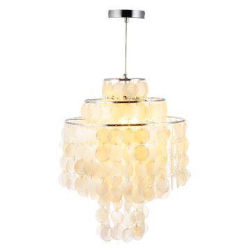 Modern simple style chandelier shell pendant chrome craft bedroom modern simple style chandelier shell pendant chrome craft bedroom living room dining room kitchen lighting aloadofball Gallery