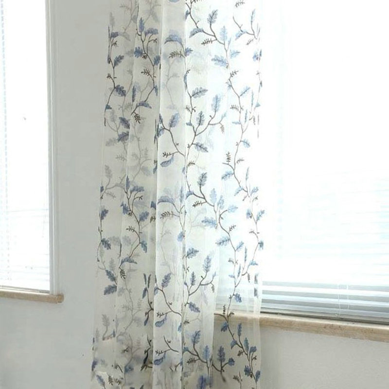 One Panel American Pastoral Sheer Curtains Advanced