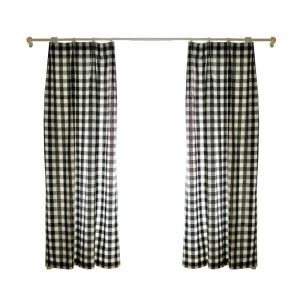 ( One Panel ) American Pastoral Curtains Advanced Customization Lattice Pattern
