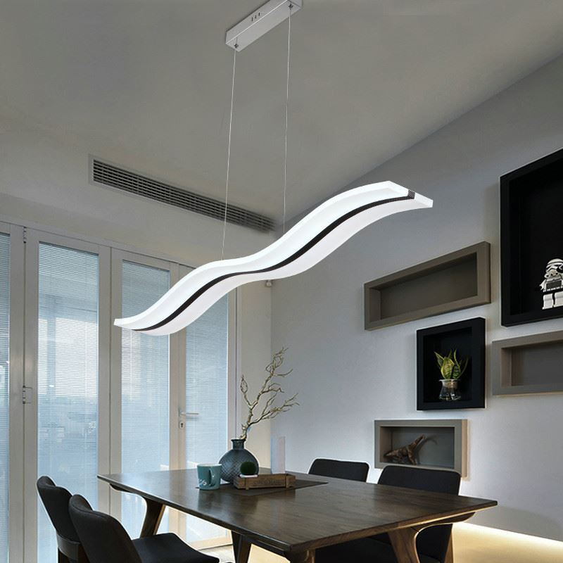Modern Living Room Lighting Ideas: (In Stock) Ceiling Lights Acrylic Pendant Lights LED