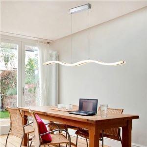 (EU Stock)Ceiling Lights Pendant Lights LED Modern Contemporary Living Room Bedroom Dining Room Lighting Ideas Lighting Study Room Office Kids Room Warm White(Ride The Waves)