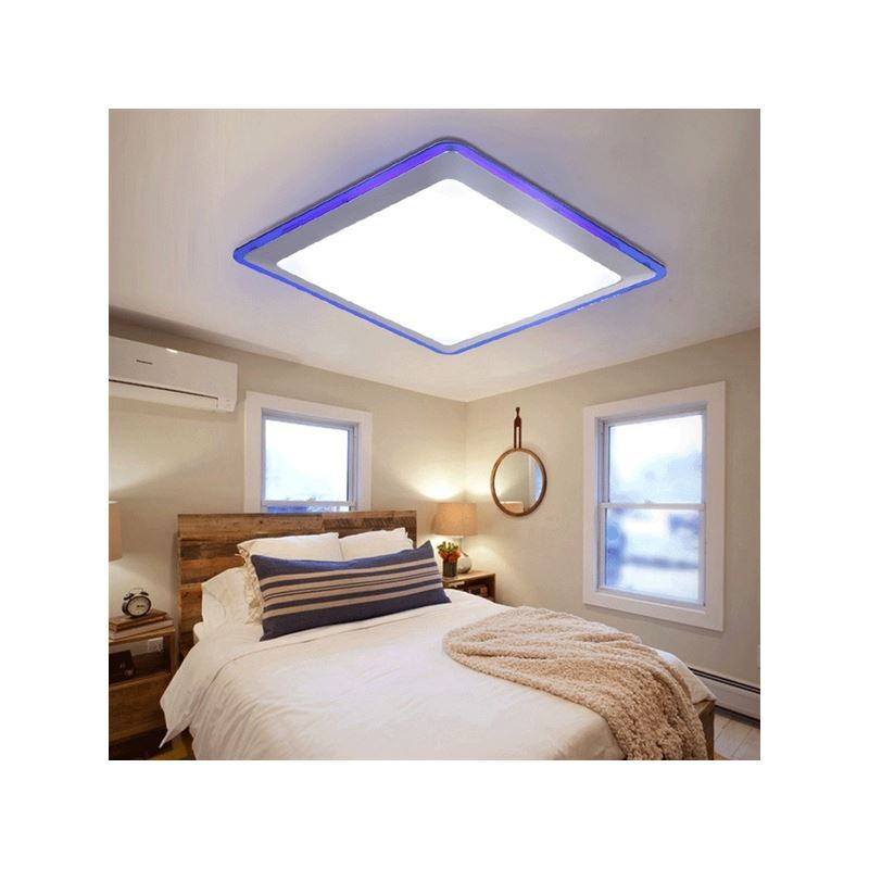 Flush Mount LED Modern Contemporary Living Room Bedroom ...