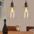 Show details for Glass Pendant Lights Dome Shape Clear Glass LOFT Mini Dining Table Lighting