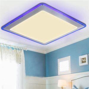 (EU Stock) Flush Mount LED Modern  Contemporary Living Room  Bedroom  Kitchen  Bathroom  Study Room  Office  Kids Room  Garage Metal Warm White(Sunshine In My Sky)