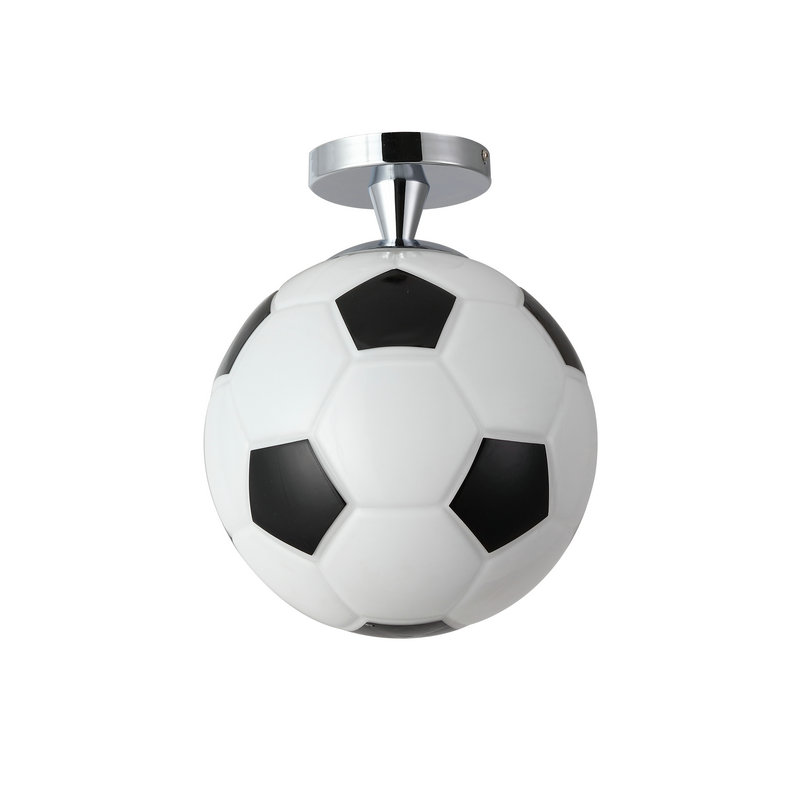 Football Bedroom Ideas Semi Flush Mount Ceiling Light For