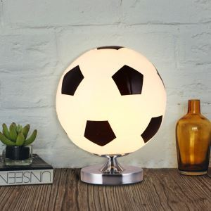 (In Stock)Football Table Lamp Creative Bedside Lamp Children Room Cartoon Lamp Bedroom Table Lamp