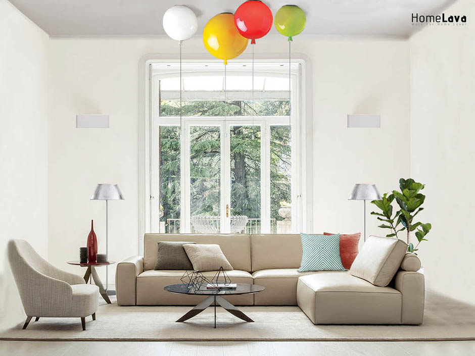 Funny living room