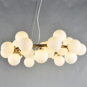 Nordic Creative Personality Magic Bean Lighting Postmodern Simple Living Room Dining Room Bedroom Chandelier 25 Lights