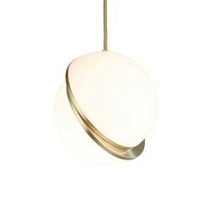 Nordic Postmodern Simple Lighting Study Room Bedroom Dining Room Decorative Acrylic Pendant Light