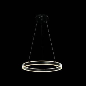 Nordic Modern LED Light Black Round Restaurant Bar Simple Creative Pendant Light Single Light