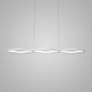 Nordic Modern LED Pendant Light White Bedroom Living Room Kitchen Lighting