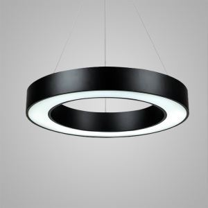 Nordic Modern LED Pendant Light Black Bedroom Living Room Kitchen Lighting
