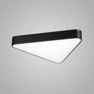 Nordic Modern LED Pendant Light Black Triangle Bedroom Living Room Kitchen Lighting