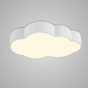 Nordic Modern LED Flush Mount Cloud Shape Bedroom Living Room Kitchen Lighting