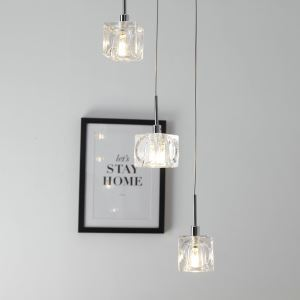 Nordic Modern LED Pendant Light Living Room Dining Room Bar Light 3 Lights