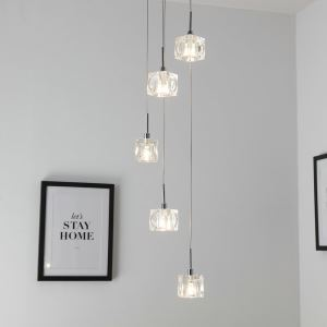 Nordic Modern LED Pendant Light Living Room Dining Room Bar Light 5 Lights