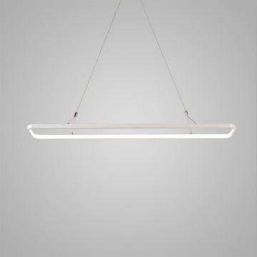 office pendant light. Nordic Modern LED Pendant Light White Rounded Rectangle Model Office Cafe Bar Inside Edge Glowing U