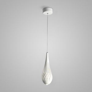 Nordic Modern Creative Simple Hollow Vase Modeling LED Pendant Light White Bedroom Living Room Dining Room Lighting Single Light
