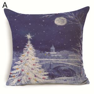 Christmas Tree Christmas Theme Pillowcase 6 Options