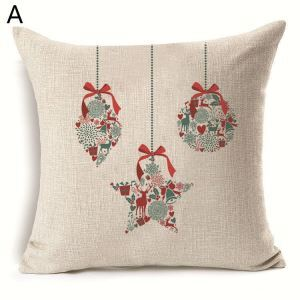 Christmas Decoration Christmas Theme Pillowcase 6 Options