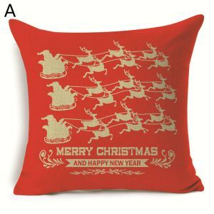 Christmas Tree Christmas Theme Pillowcase 7 Options
