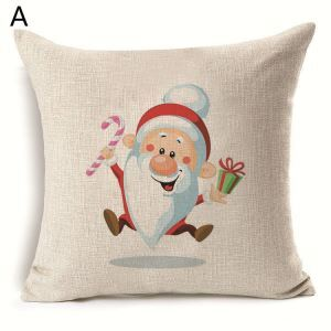 Santa Claus Christmas Theme Pillowcase 6 Options