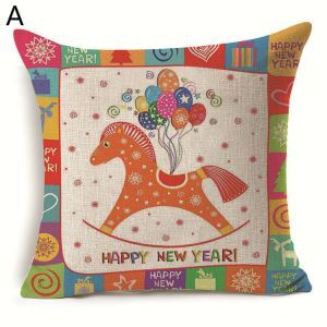 Christmas Deer Christmas Theme Pillowcase 7 Options