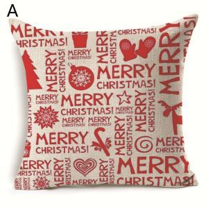 Christmas Decoration Christmas Theme Pillowcase 7 Options