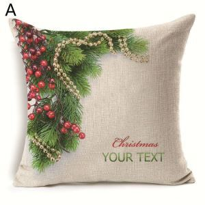 Christmas Tree Christmas Theme Pillowcase 5 Options
