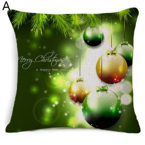 Christmas Theme Pillow Merry Christmas Pillowcase 5 Options