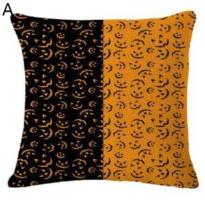 Halloween Theme Pillow Pumpkin Head Ghost Halloween Theme Pillowcase 6 Options