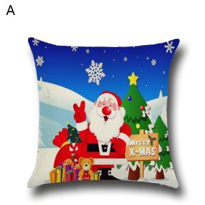 Santa Claus Christmas Theme Pillowcase 5 Options