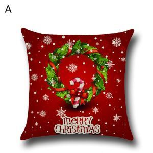 Santa Claus Christmas Tree Christmas Theme Pillowcase 5 Options
