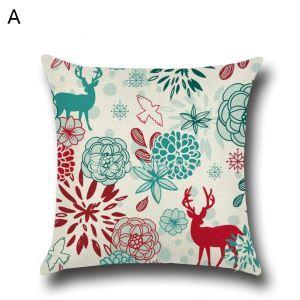 Christmas Deer Christmas Theme Pillowcase 4 Options