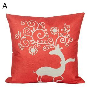 Christmas Deer Christmas Theme Pillowcase 5 Options