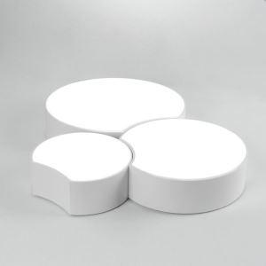Modern Simple Style Living Room Dining Room Bedroom Apple Model LED Flush Mount